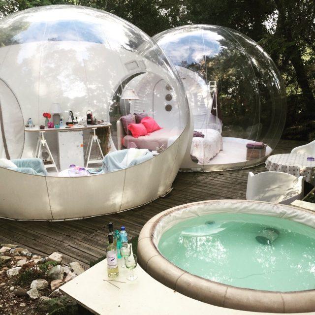 Week-end insolite – Dormir dans une bulle, anticipez vos réservations