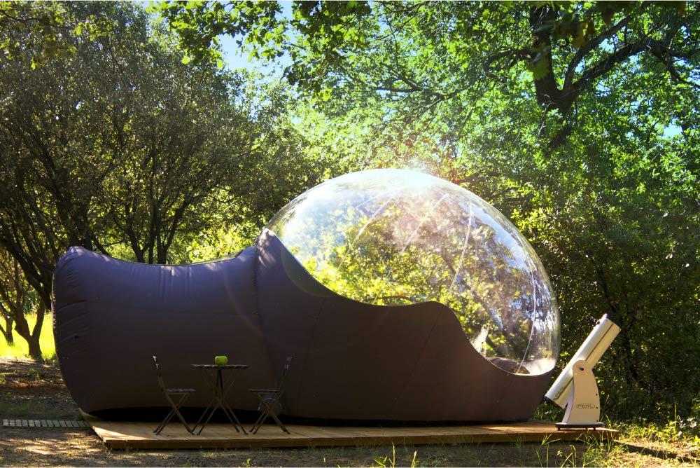 Maisons bulles - Week-end et nuit insolite - Gard - Occitanie
