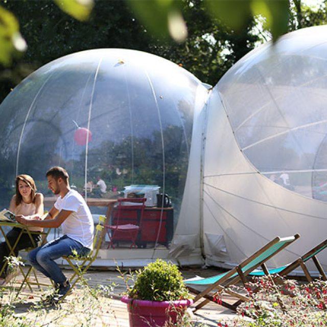 nuit insolite bulle annuaire des sites pour dormir dans une bulle. Black Bedroom Furniture Sets. Home Design Ideas