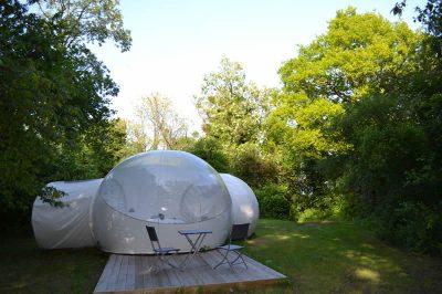 Tente bulle Domaine des Vaulx